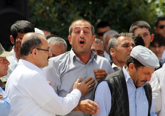 O protestocu PKK sempatizanı çıktı