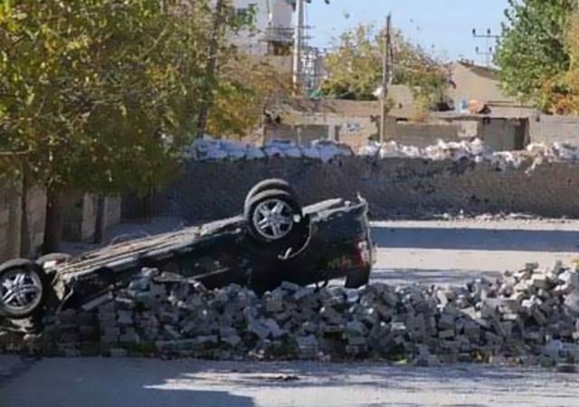 Nusaybin'de sıcak saatler... 6 polis yaralandı