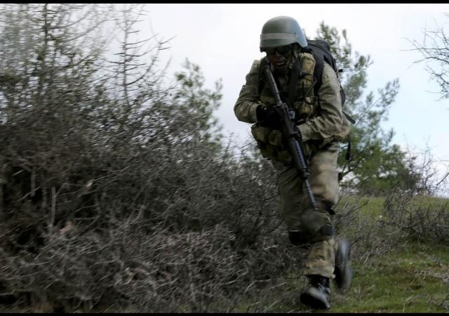 Askeri birlik yakınında bomba araması