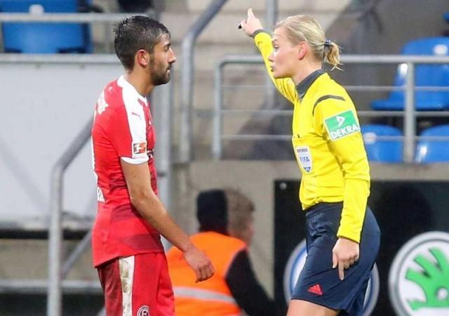 'Erkek futbolunda kadınların işi yok' dedi cezayı aldı