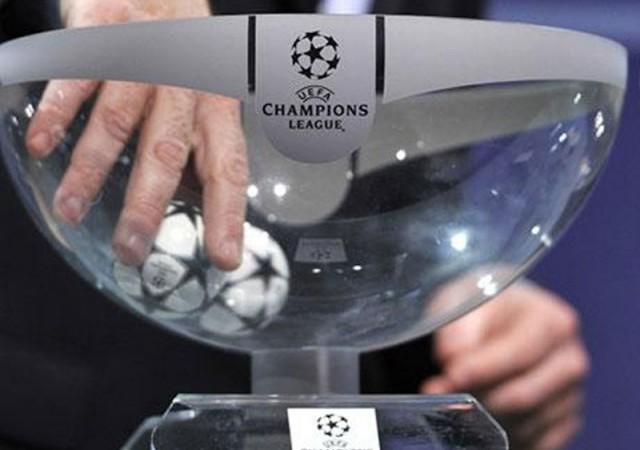 Şampiyonlar Ligi'nde kuralar çekildi! İşte eşleşmeler...