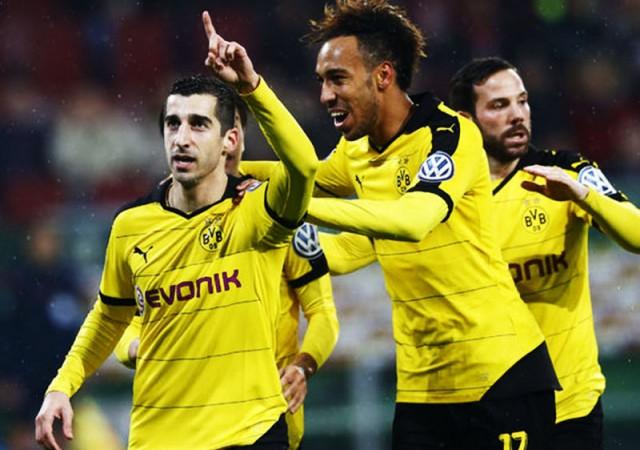 Dortmund çeyrek finalde!