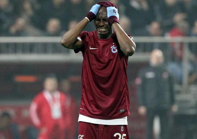 Trabzonspor'da sancılı ilk yarı