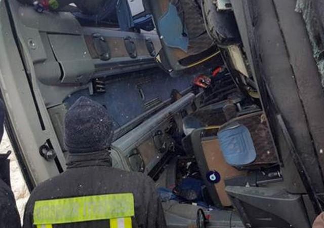 Kırşehir'de yolcu otobüsü devrildi, 9 ölü 17 yaralı