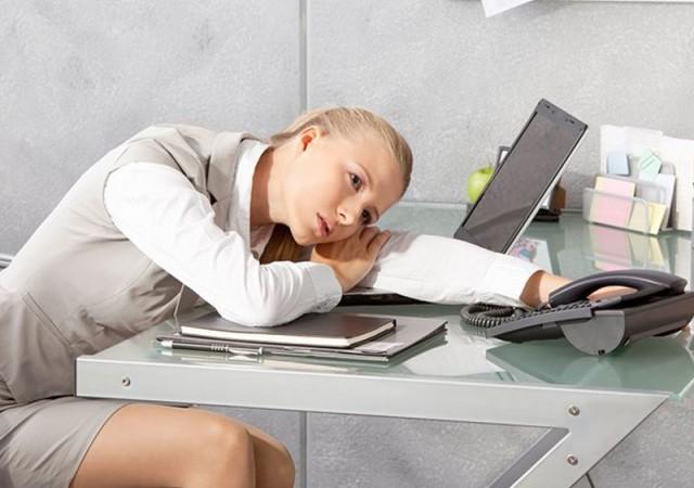 İş yorgunluğunu bu şekilde giderin!