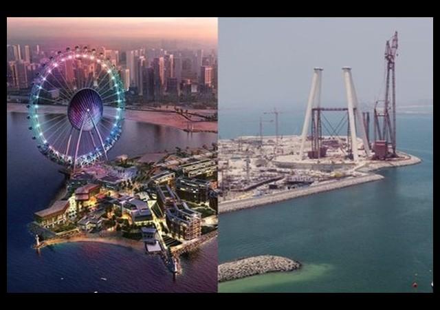 Dubai'nin simgesi geliyor: Dubai Eye...