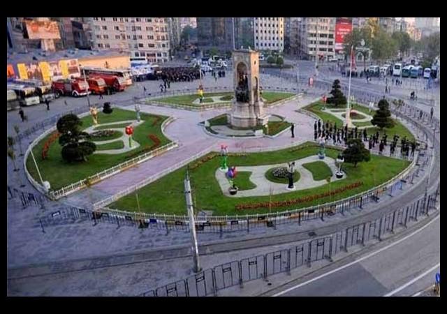 Taksim Meydanı'nda çevre düzenleme projesi