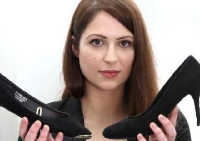 Topuklu ayakkabı giymedi işten kovuldu!