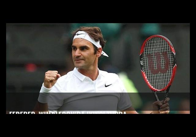 Federer, Wimbledon'da ikinci turda