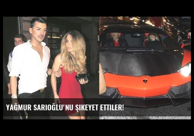 Yağmur Sarıoğlu'nu şikeyet ettiler!