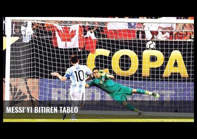 Messi'yi bitiren tablo