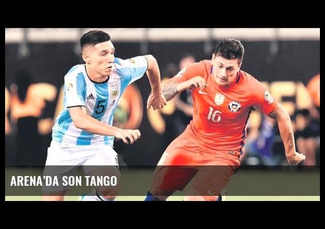 Arena'da son tango