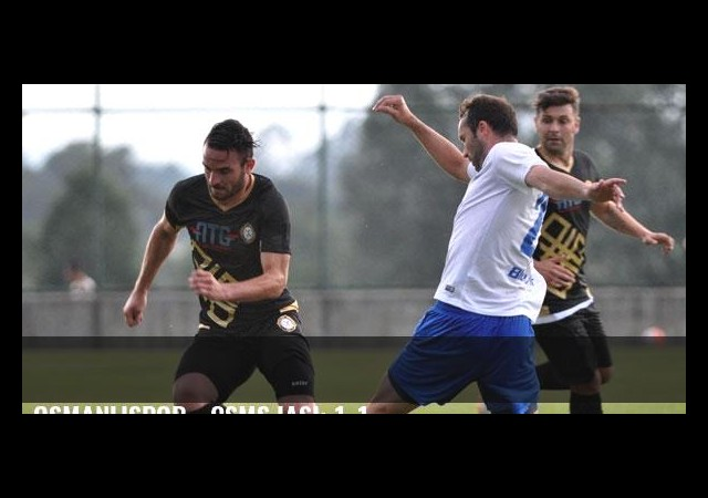 Osmanlıspor - CSMS Iaşi: 1-1