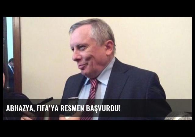 Abhazya, FIFA'ya resmen başvurdu!