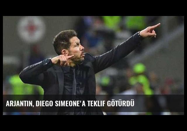 Arjantin, Diego Simeone'a teklif götürdü
