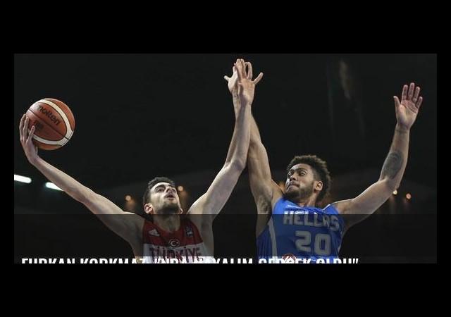 Furkan Korkmaz: 'NBA hayalim gerçek oldu'