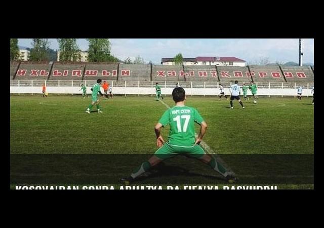 Kosova'dan sonra Abhazya da FIFA'ya başvurdu