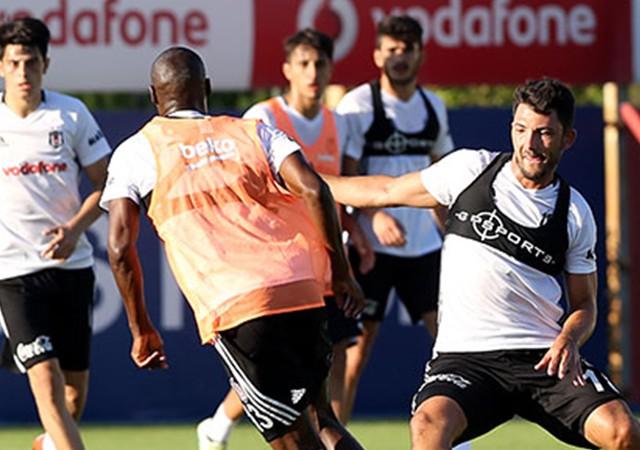 Beşiktaş'tan çift antrenman