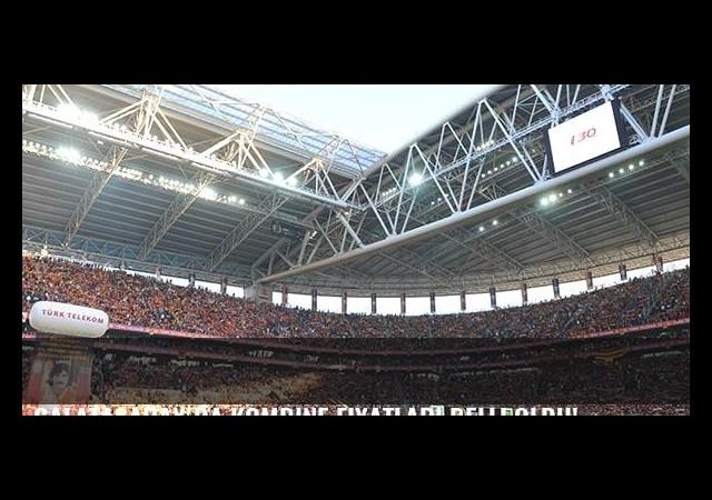 Galatasaray'da kombine fiyatları belli oldu!