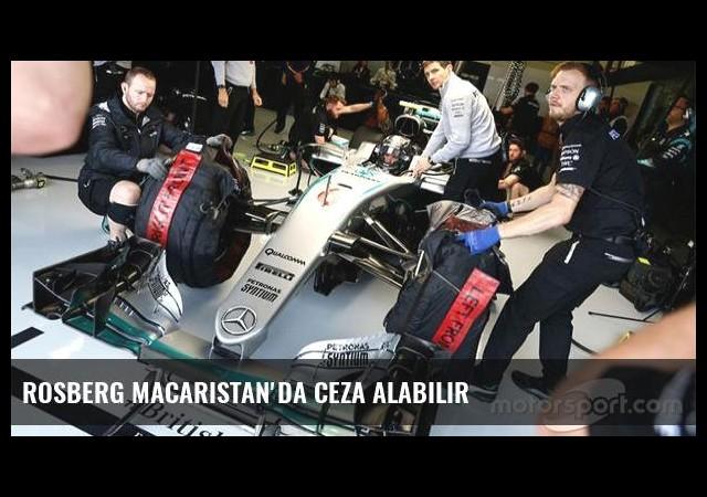 Rosberg Macaristan'da ceza alabilir