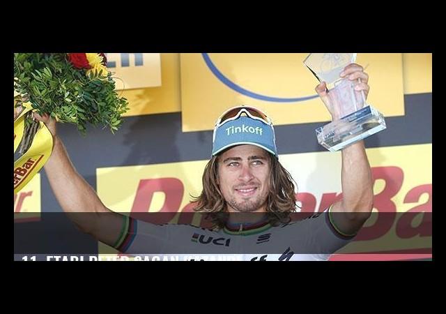 11. etabı Peter Sagan kazandı