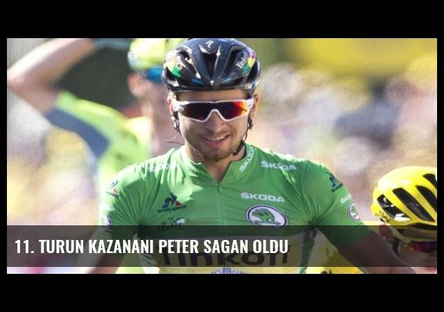 11. turun kazananı Peter Sagan oldu
