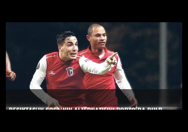 Beşiktaş Sosa'nın alternatifini Porto'da buldu