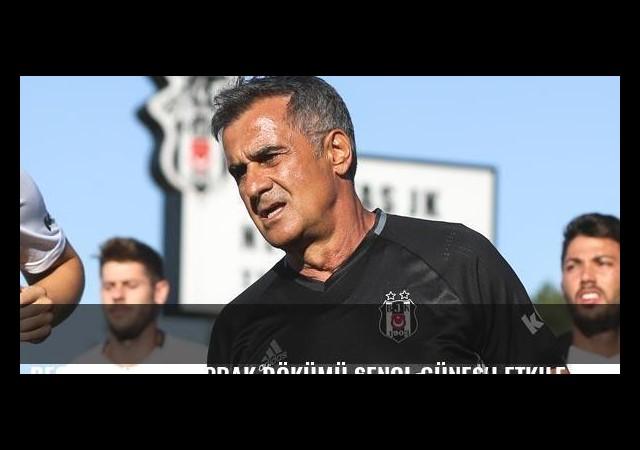 Beşiktaş'taki yaprak dökümü Şenol Güneş'i etkiledi
