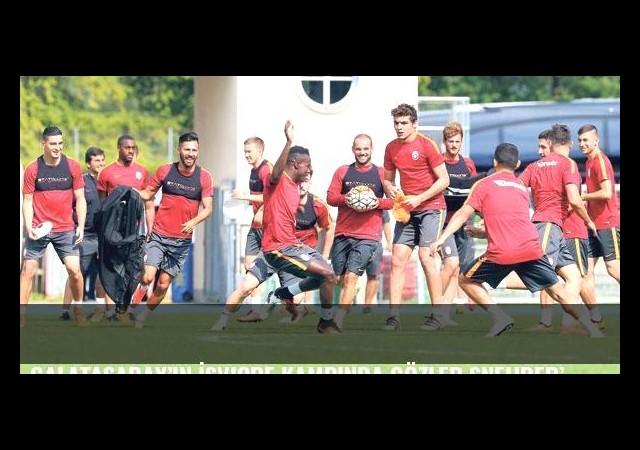 Galatasaray'ın İsviçre kampında gözler Sneijder'de