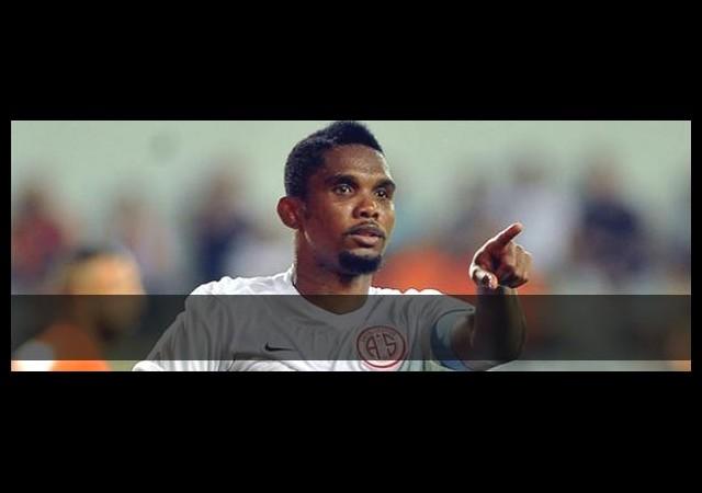 Samuel Eto'nun maçında bilet fiyatları 900 liradan 399 liraya indirildi