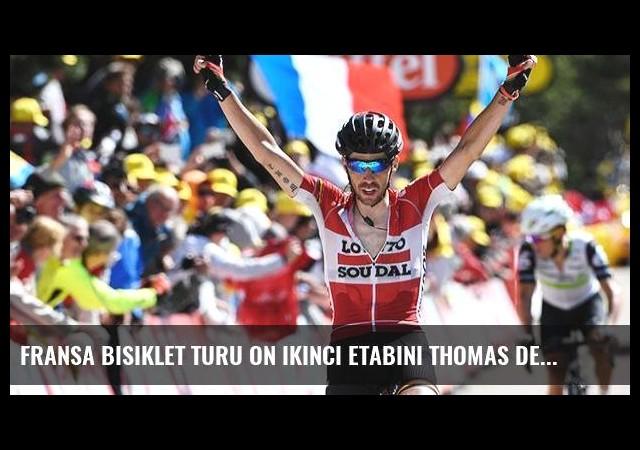 Fransa Bisiklet Turu on ikinci etabını Thomas De Gendt kazandı