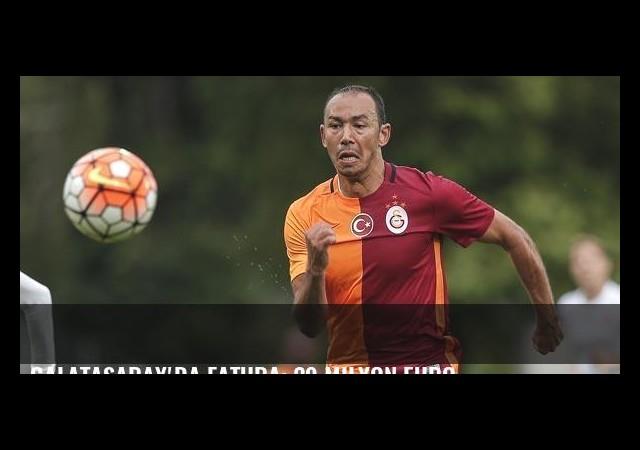 Galatasaray'da fatura: 29 milyon euro
