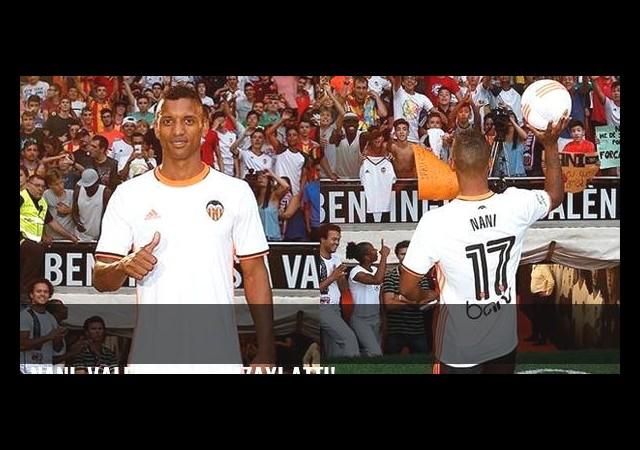 Nani, Valencia'ya imzayı attı!
