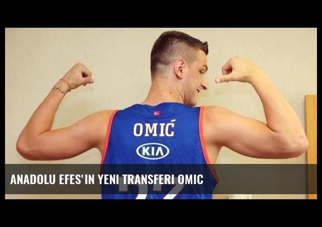 Anadolu Efes'in yeni transferi Omic