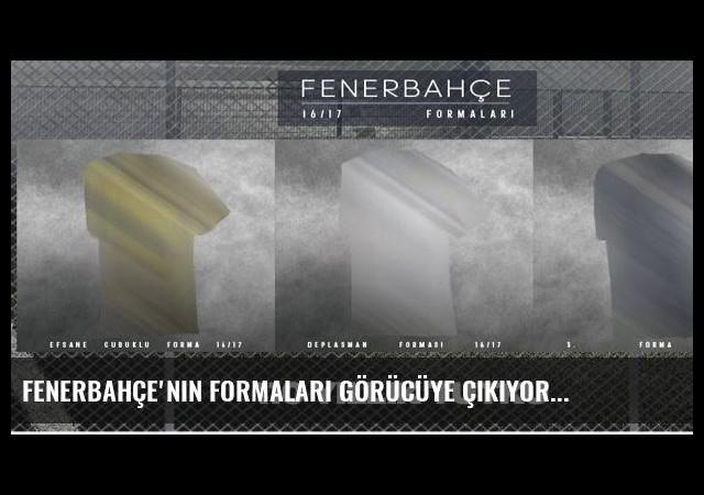 Fenerbahçe'nin formaları görücüye çıkıyor