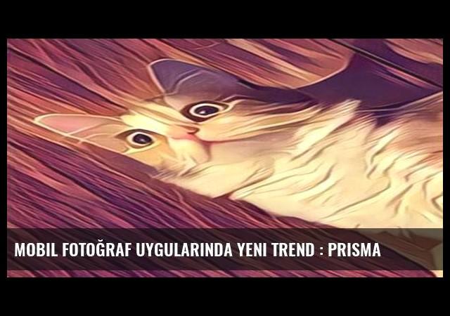Mobil fotoğraf uygularında yeni trend : Prisma