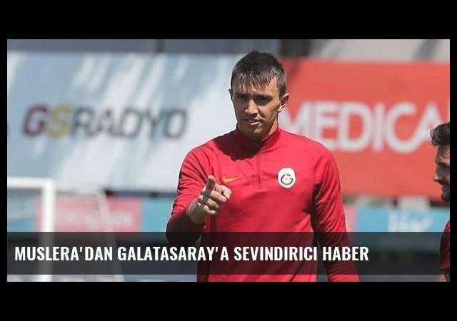 Muslera'dan Galatasaray'a sevindirici haber
