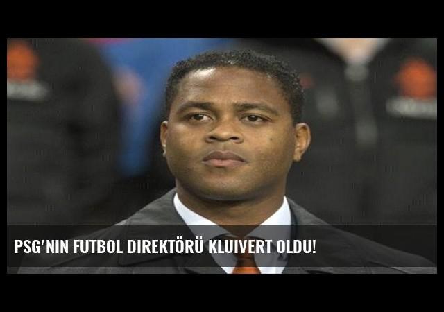 PSG'nin futbol direktörü Kluivert oldu!