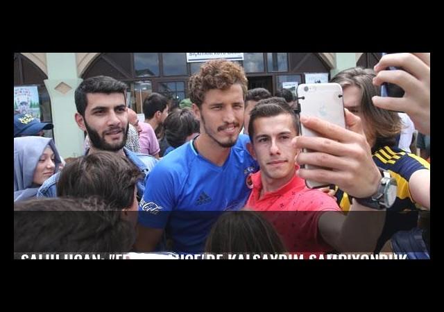 Salih Uçan: 'Fenerbahçe'de kalsaydım şampiyonduk'
