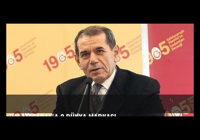 Galatasaray'a 2 dünya markası