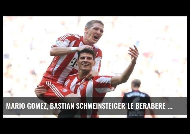 Mario Gomez, Bastian Schweinsteiger'le berabere Beşiktaş'a geliyor!