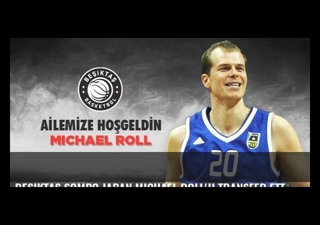 Beşiktaş Sompo Japan Michael Roll'u transfer etti