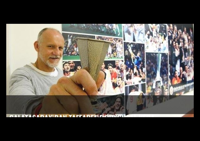Galatasaray'dan Taffarel'e duygusal veda