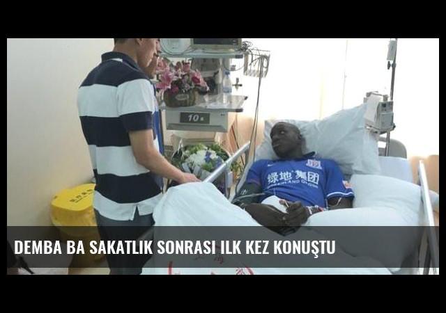 Demba Ba sakatlık sonrası ilk kez konuştu