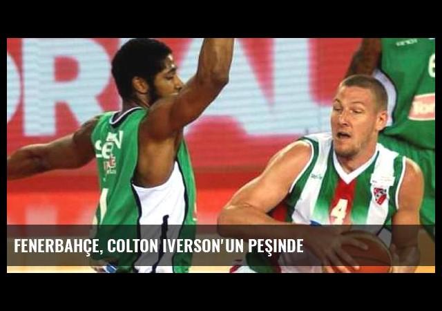 Fenerbahçe, Colton Iverson'un peşinde
