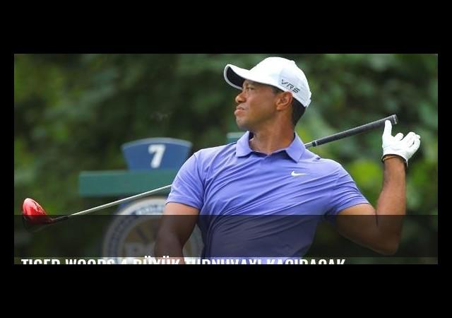 Tiger Woods 4 büyük turnuvayı kaçıracak