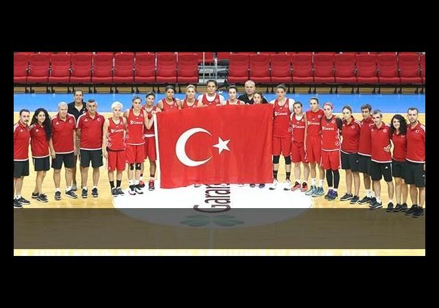 A Milli Kadın Basketbol Takımın'dan Birlik, Beraberlik Mesajı