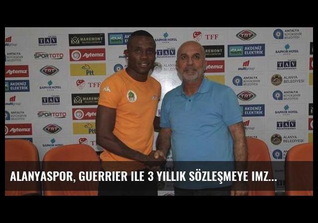 Alanyaspor, Guerrier ile 3 yıllık sözleşmeye imza attı