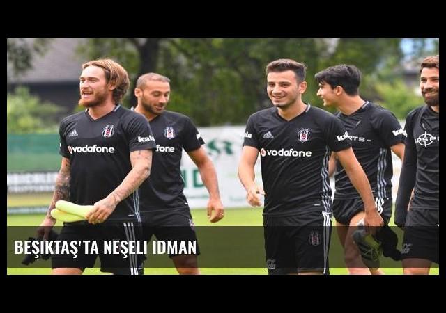 Beşiktaş'ta neşeli idman