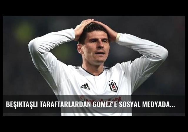 Beşiktaşlı taraftarlardan Gomez'e sosyal medyada 'takip' tepkisi